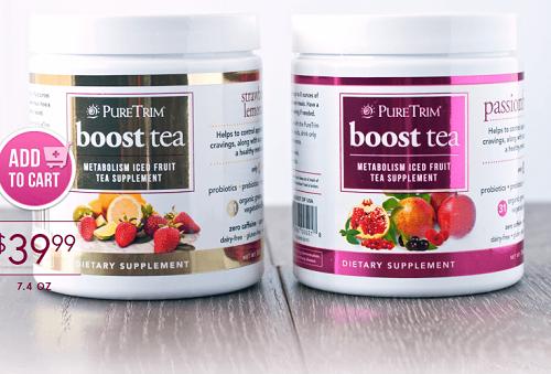 pure trim boost tea review