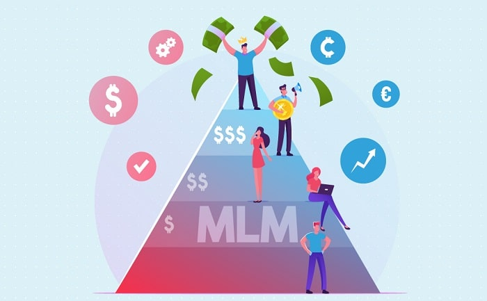 make money with mlm profit network marketing business direct selling success affiliate sales