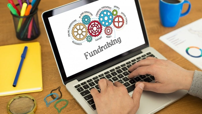 how to run successful online fundraising campaign non-profit donations charity find donors